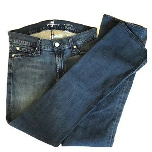 7 for all mankind the skinny boot cut